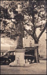 Saint Vallier colonne Napoléon
